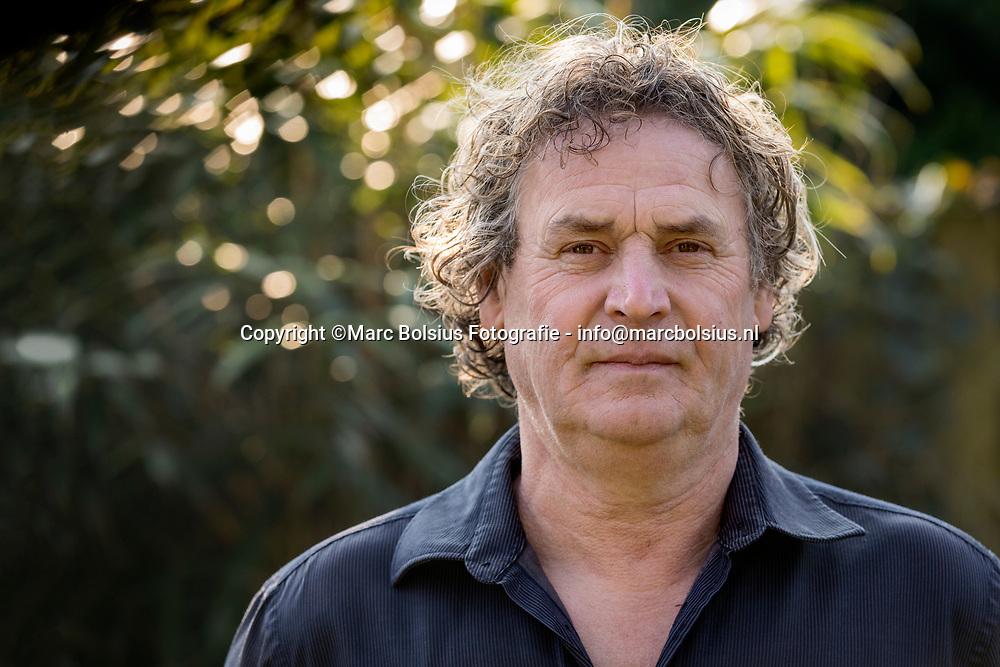 Nederland,  Den Dungen, ex voetbaltrainer van het bossche BLC, Maarten van Lith