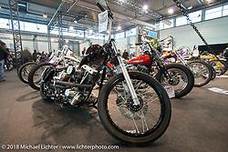 LowRide Magazine bike show in Halll 1 of Motor Bike Expo. Verona, Italy. January 22, 2016.  Photography ©2016 Michael Lichter.