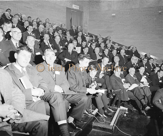 Some of the delegates from the whole of Ireland who attended the Annual GAA Congress in Dublin on Easter Sunday...Annual Congress, GAA. 14.4.1968.  14th April 1968