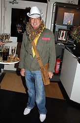 NICKY HASLAM at a jewellery party hosted by Osanna Visconti and Pia Marocco at Allegra Hick's shop, 28 Cadogan Place, London on 25th November 2004.<br /><br />NON EXCLUSIVE - WORLD RIGHTS