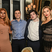 Guests, Ben Luke Jones and Lilly Douse attend The Bachelor UK 2019 launch night - The girls private screening on Channel 5 at Beach Blanket Babylon on 4 March 2019, London, UK