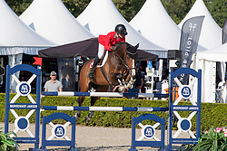 Laurino Aaliyah, SUI, Cairo vd Pikkerie Z<br /> European Jumping Championship Children<br /> Zuidwolde 2019<br /> © Hippo Foto - Dirk Caremans<br /> Laurino Aaliyah, SUI, Cairo vd Pikkerie Z