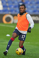 Regan Charles-Cook warms up for Ross County during the Scottish Premiership match between Ross County FC and Aberdeen FC at the Global Energy Stadium, Dingwall, Scotland on 16 January 2021.