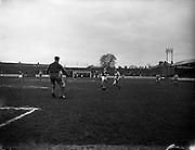 29/12/1957<br /> 12/29/1957<br /> 29 December 1957<br /> Soccer: Drumcondra v Cork Hibernians at Tolka Park, Dublin.