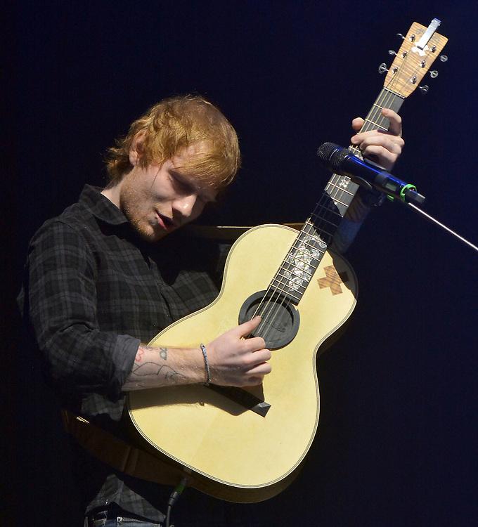 Metro Radio Live Newcastle  28th November <br /> Ed Sheeran <br /> pix Dave Nelson