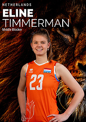 Eline Timmerman of Netherlands, Photoshoot selection of Orange women's volleybal team season 2021on may 12, 2021 in Arnhem, Netherlands (Photo by RHF Agency/Ronald Hoogendoorn)