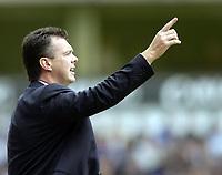 Photo: Richard Lane.<br /> Aston Villa v Chelsea. Barclaycard Premiership. 12/04/2004.<br /> Villa manager, David O'Leary.