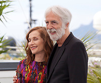 Isabelle Huppert and director Michael Haneke at the Happy End film photo call at the 70th Cannes Film Festival Monday 22nd May 2017, Cannes, France. Photo credit: Doreen Kennedy