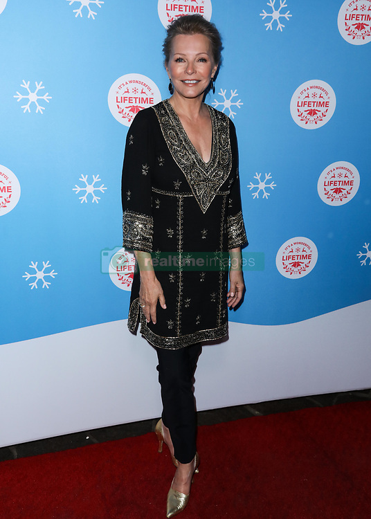 LOS ANGELES, CA, USA - NOVEMBER 14: The Stars Of Lifetime's Christmas Movies Celebrate The Opening Night Of Life-Sized Gingerbread House Experience held at The Grove on November 14, 2018 in Los Angeles, California, United States. 14 Nov 2018 Pictured: Cheryl Ladd. Photo credit: Xavier Collin/Image Press Agency/MEGA TheMegaAgency.com +1 888 505 6342