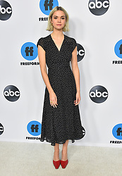 Stars arriving at the Disney ABC TCA Winter Press Tour 2019 at Langham Huntington Hotel on February 5, 2019 in Pasadena, California. 05 Feb 2019 Pictured: Maia Mitchell. Photo credit: O'Connor/AFF-USA.com / MEGA TheMegaAgency.com +1 888 505 6342