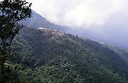View of Newcastle army barracks, Blue Mountains, Jamaica