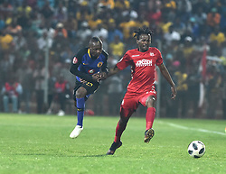 South Africa: Johannesburg: Kaizer Chiefs player Khama Billiat and Highlands Park player Luckyboy Mokoena during the Premier Soccer League (PSL) at Makhulong stadium in Tembisa, Gauteng.<br />02.10.2018<br />Picture: Itumeleng English/African News Agency (ANA)