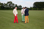 MAJOR CHRISTOPHER HANBURY,; COLIN EMSON; PASCAL DE BARROS;  The Dalwhinnie Crook  charity Polo match  at Longdole  Polo Club, Birdlip  hosted by the Halcyon Gallery. . 12 June 2010. -DO NOT ARCHIVE-© Copyright Photograph by Dafydd Jones. 248 Clapham Rd. London SW9 0PZ. Tel 0207 820 0771. www.dafjones.com.