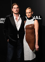The cast of 'Nocturnal Animals' attend a special screening of the Tom Ford film in Los Angeles. 11 Nov 2016 Pictured: Amber Valletta, Christian McCaw. Photo credit: American Foto Features / MEGA TheMegaAgency.com +1 888 505 6342