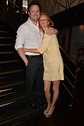 Olivia Inge and fiancée at the Quaglino's Q Legends Summer Launch Party hosted by Henry Conway at Quaglino's, 16 Bury Street, London England. 18 July 2017.