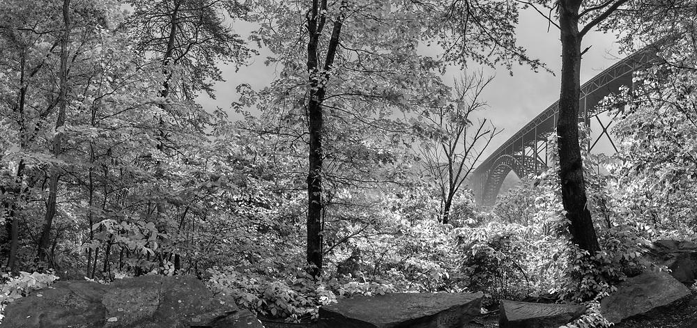 New River Gorge Bridge. Fayetteville, W.Va.