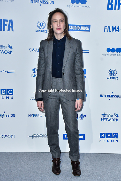 Celine Sciamma attends the 22nd British Independent Film Awards at Old Billingsgate on December 01, 2019 in London, England.