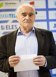 Martin Steiner during press conference when Slovenian athletes and their coaches sign contracts with Athletic federation of Slovenia for year 2016, on February 25, 2016 in AZS, Ljubljana, Slovenia. Photo by Vid Ponikvar / Sportida