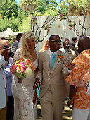 EXCLUSIVE US actor Tommy Davidson wedding to Amanda Moore