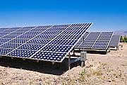 Solar panels, Death Valley National Park. California