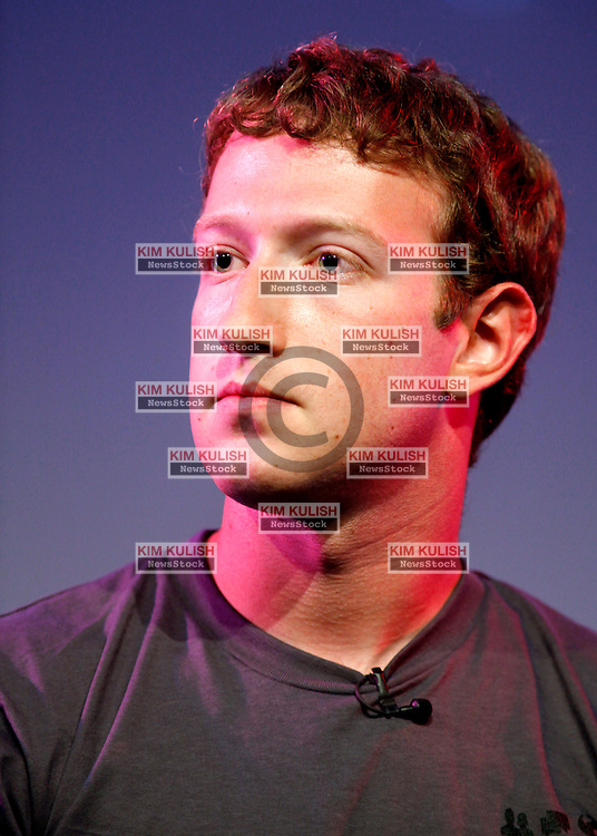 Mark Zuckerberg, Facebook CEO appears at the Computer History Museum in Mountain View Calif. for a 2 hour talk with  The Facebook Effect, Author David Kirkpatrick and NPRÕs Guy Raz.  Zuckerberg announced earlier in the day that Facebook  surpassed the 500 million active users milestone.