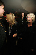 Jennifer Saunders and  Betty Jackson, First night party for Smaller  at Floridita, 100 Wardour Street W1 on Tuesday 4 AprilONE TIME USE ONLY - DO NOT ARCHIVE  © Copyright Photograph by Dafydd Jones 66 Stockwell Park Rd. London SW9 0DA Tel 020 7733 0108 www.dafjones.com