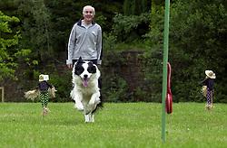 Eddie Sander with his Dogs Jackson and Inka<br /> <br /> 18 June 2004<br /> <br /> Copyright Paul David Drabble<br /> <br /> [#Beginning of Shooting Data Section]<br /> Nikon D1 <br /> <br /> Focal Length: 116mm<br /> <br /> Optimize Image: <br /> <br /> Color Mode: <br /> <br /> Noise Reduction: <br /> <br /> 2004/06/18 09:22:40.5<br /> <br /> Exposure Mode: Manual<br /> <br /> White Balance: Auto<br /> <br /> Tone Comp: Normal<br /> <br /> JPEG (8-bit) Fine<br /> <br /> Metering Mode: Center-Weighted<br /> <br /> AF Mode: AF-S<br /> <br /> Hue Adjustment: <br /> <br /> Image Size:  2000 x 1312<br /> <br /> 1/200 sec - F/8<br /> <br /> Flash Sync Mode: Not Attached<br /> <br /> Saturation: <br /> <br /> Color<br /> <br /> Exposure Comp.: 0 EV<br /> <br /> Sharpening: Normal<br /> <br /> Lens: 80-200mm F/2.8<br /> <br /> Sensitivity: ISO 200<br /> <br /> Image Comment: <br /> <br /> [#End of Shooting Data Section]