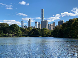 Skyline of Midtown Manhattan from Central Park