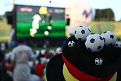 23.06.2010, Olympiapark, Muenchen, GER, FIFA Worldcup, Puplic Viewing Ghana vs Deutschland  im Bild Fanhut , EXPA Pictures © 2010, PhotoCredit: EXPA/ nph/  Straubmeier / SPORTIDA PHOTO AGENCY