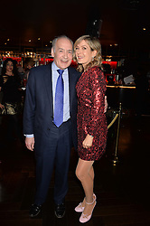 Penny Smith and Alistair Stewart at the Costa Book of The Year Awards held at Quaglino's, 16 Bury Street, London England. 31 January 2017.