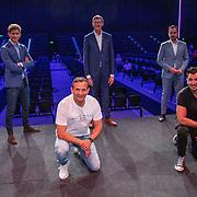 NLD/Den Bosch/20200623 - Presentatie cultuurstad Den Bosch, Jeroen Dona van Mainstage, Alex Kühne van Theater aan de Parade, Najib Amhali, Guido Weijers en Mike van der Geld