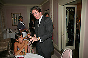 DASHA ZHUKOVA AND TIM JEFFERIES, Dinner hosted by Elizabeth Saltzman for Donatella Versace. Claridge's Hotel, Brook Street, Mayfair, London. 11 March 2008.  *** Local Caption *** -DO NOT ARCHIVE-© Copyright Photograph by Dafydd Jones. 248 Clapham Rd. London SW9 0PZ. Tel 0207 820 0771. www.dafjones.com.