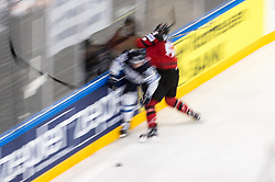 Players in action during the 2017 IIHF Men's World Championship group B Ice hockey match between National Teams of Canada and Finland, on May 16, 2017 in AccorHotels Arena in Paris, France. Photo by Vid Ponikvar / Sportida