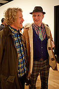 GRAYSON PERRY; BOB AND ROBERTA SMITH, Jeremy Deller, Joy in People, Hayward Gallery, Southbank Centre. London. 21 February 2012.