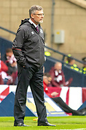 Hearts Manager Craig Levein during the William Hill Scottish Cup Final match between Heart of Midlothian and Celtic at Hampden Park, Glasgow, United Kingdom on 25 May 2019.