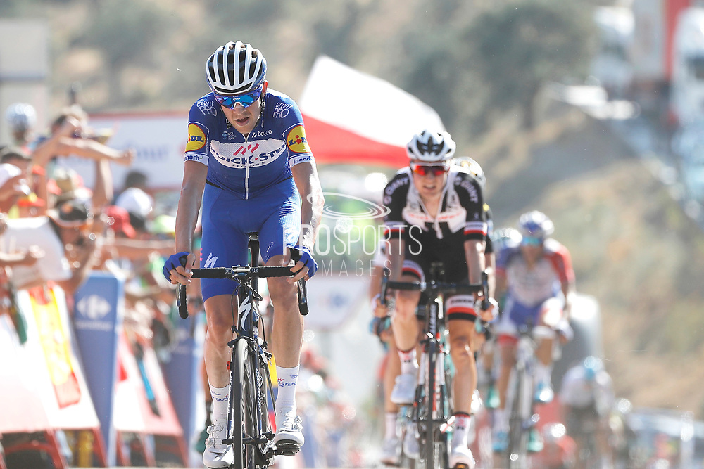 Laurens De Plus (BEL - QuickStep - Floors) during the UCI World Tour, Tour of Spain (Vuelta) 2018, Stage 2, Marbella - Caminito del Rey 163.5 km in Spain, on August 26th, 2018 - Photo Luis angel Gomez / BettiniPhoto / ProSportsImages / DPPI