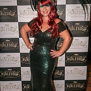 Prefomer Cherry Bomb at the London Burlesque Festival the VIP Opening Gala at Conway Hall on 18th May 2017, UK. by See Li