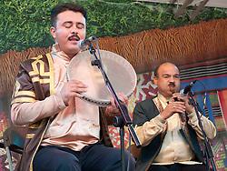 Azerbaijani band Gochag Askerov and ensemble playing at WOMAD 2009