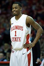 Tyler Brown Illinois State Redbird Basketball Photos