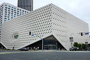 The Broad Art Museum In Downtown Los Angeles