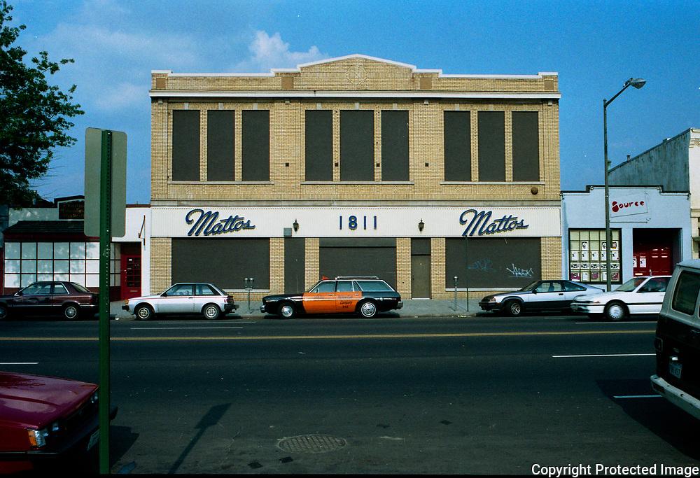 1811 14th Street NW Washington DC 1988 Mattos, The Black Cat, Source Theater