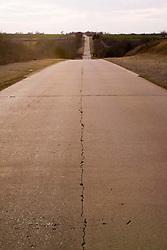 Along Old US Route 66 near Bridgeport Oklahoma