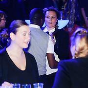 NLD/Amsterdam/20130418- Uitreiking 3FM Awards 2013, Trijntje Oosterhuis en partner Alvin Lewis