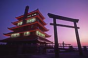 PA landscapes, The Reading Pagoda, Berks Co., PA