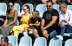 PORTOROZ, SLOVENIA - SEPTEMBER 17: Supporters of Kaja Juvan of Slovenia in 3rd Round of the WTA 250 Zavarovalnica Sava Portoroz at SRC Marina, on September 17, 2021 in Portoroz / Portorose, Slovenia. Photo by Vid Ponikvar / Sportida
