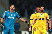 Gianluigi Buffon Juventus e Sami Khedira Juventus<br /> Napoli 01-12-2017  Stadio San Paolo <br /> Football Campionato Serie A 2017/2018 <br /> Napoli - Juventus<br /> Foto Cesare Purini / Insidefoto