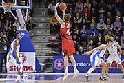 DESCRIZIONE : Eurocup 2015-2016 Last 32 Group N Dinamo Banco di Sardegna Sassari - Cai Zaragoza<br /> GIOCATORE : Isaac Fotu<br /> CATEGORIA : Tiro Tre Punti Three Point Controcampo<br /> SQUADRA : Cai Zaragoza<br /> EVENTO : Eurocup 2015-2016<br /> GARA : Dinamo Banco di Sardegna Sassari - Cai Zaragoza<br /> DATA : 27/01/2016<br /> SPORT : Pallacanestro <br /> AUTORE : Agenzia Ciamillo-Castoria/L.Canu