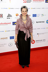 December 10, 2016 - Wroclaw, Lower Silesian, Deutschland - Irina Wanka attends the 29th European Film Awards 2016 at the National Forum of Music on December 10,2016 in Wroclaw, Poland. (Credit Image: © Future-Image via ZUMA Press)