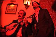 """Fado singer Rodrigo Costa Félix  at """"Clube de Fado"""" restaurant. Fado was classified by UNESCO as Untangible World Heritage in November 2011."""