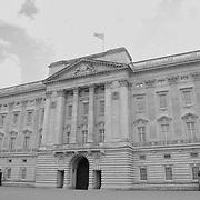 Buckingham Palace - Westminster, UK - Black & White
